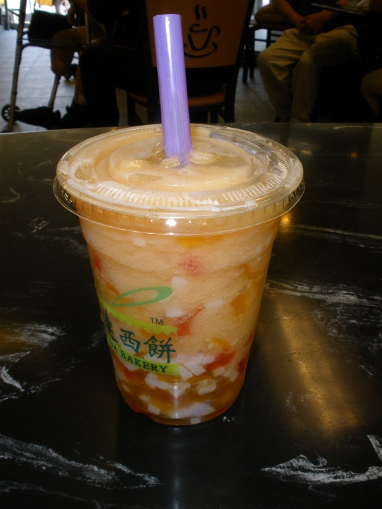 The Amazing Grapefruit Slushie with Jellies
