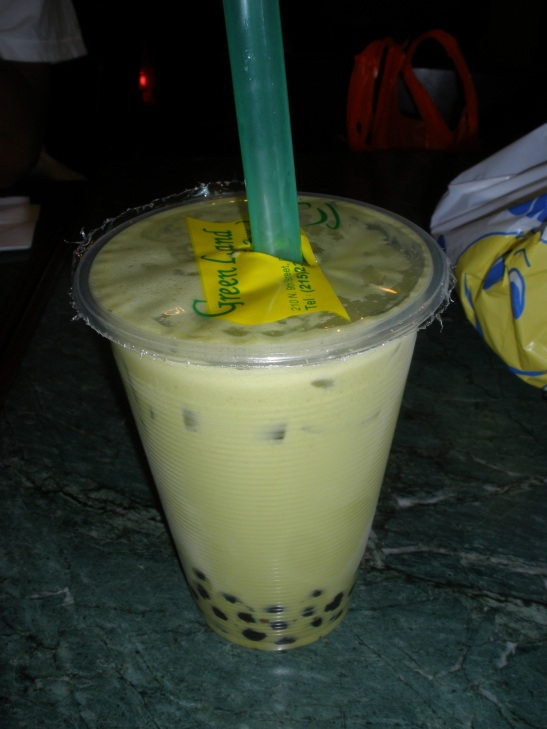 Green Tea Bubble Tea