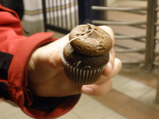 Triple Chocolate mini from Cupcake Stop